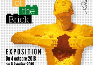 Exposition LEGO GENEVE (SUISSE) - THE ART OF THE BRICK