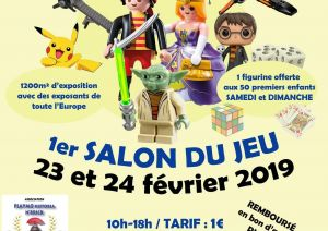 Exposition LEGO OYE-PLAGE (62215) - EXPO VENTE LEGO PLAYMOBIL OYE-PLAGE 2019