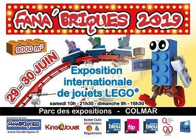 Exposition Expo 2019 À Colmar68000 Lego Fana'briques QExWoBrCde