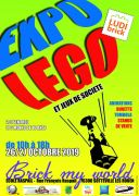 Exposition LEGO Sotteville-lès-Rouens (76300) - Expo LEGO Brick My World 2019