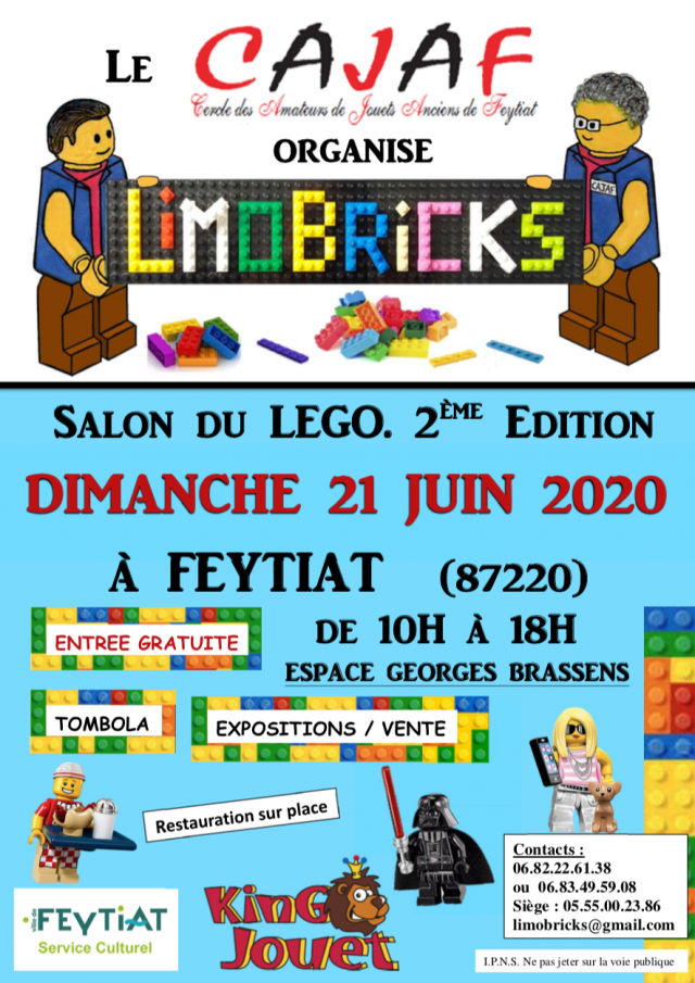 Exposition LEGO Expo LEGO Limobricks 2020 à Feytiat (87220)