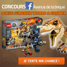 Concours Facebook LEGO Jurassic World