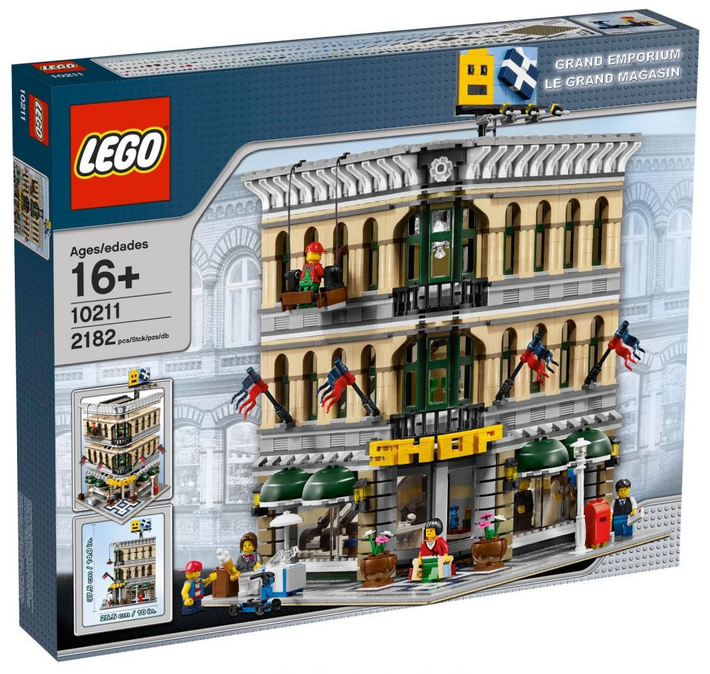 lego creator 10211 pas cher le grand magasin. Black Bedroom Furniture Sets. Home Design Ideas
