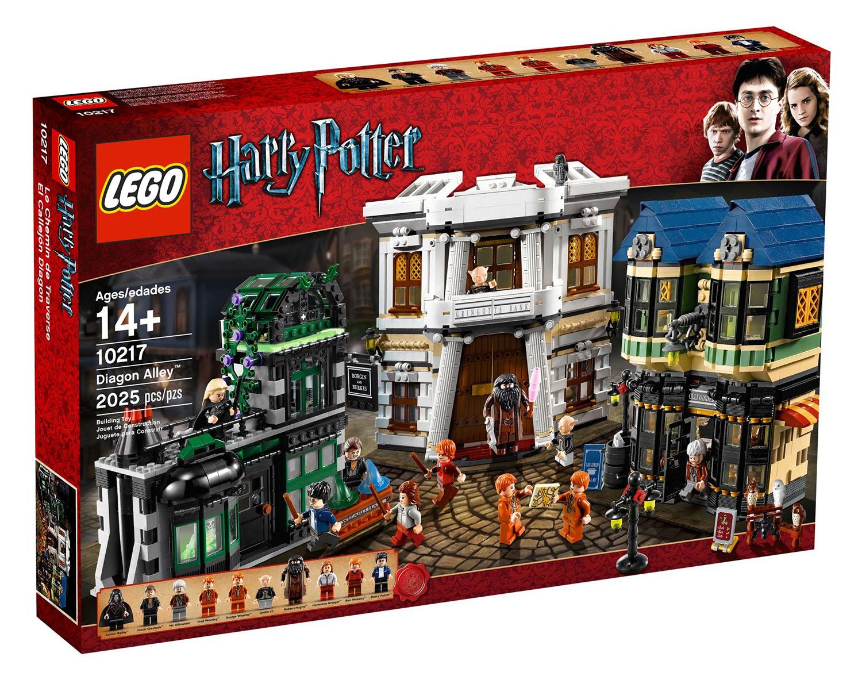Lego Harry Potter 10217 Pas Cher Chemin De Traverse
