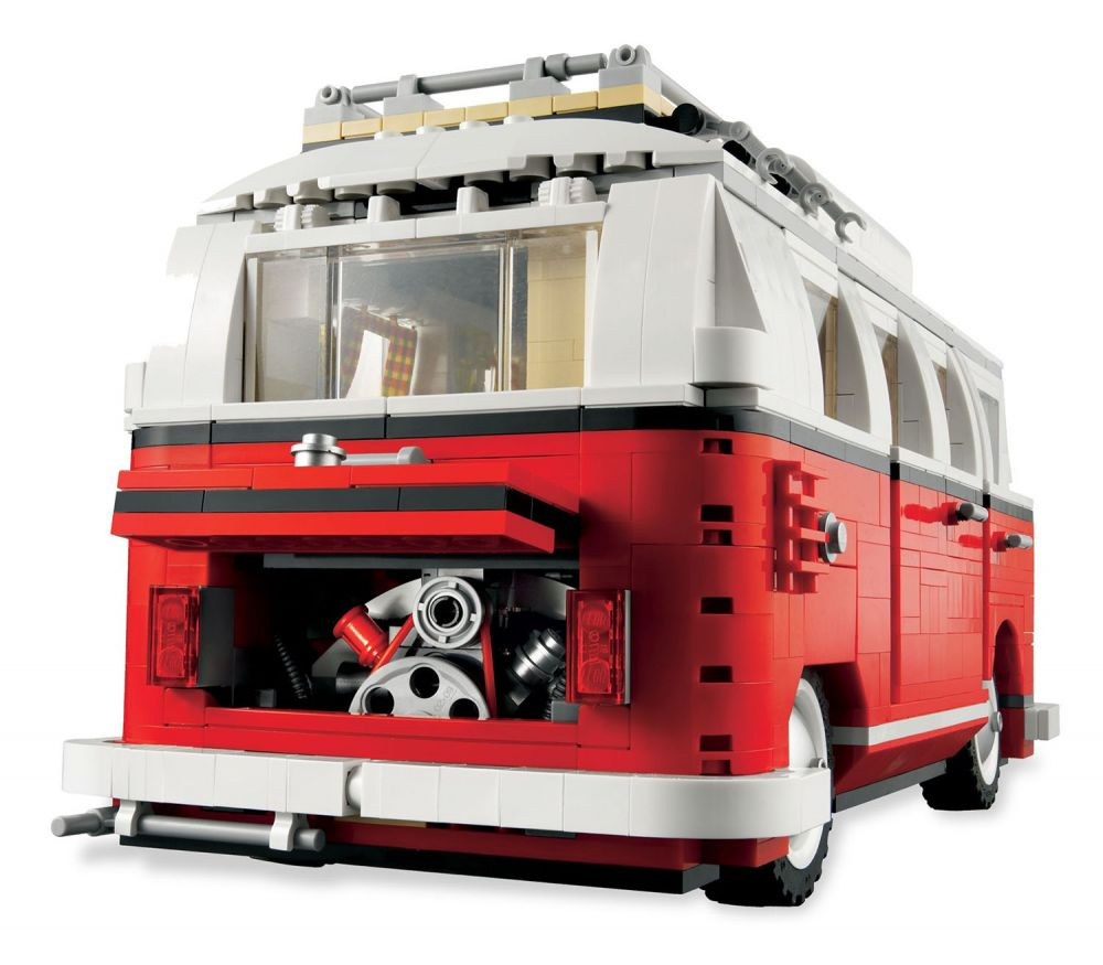 lego creator 10220 pas cher le camping car volkswagen t1. Black Bedroom Furniture Sets. Home Design Ideas