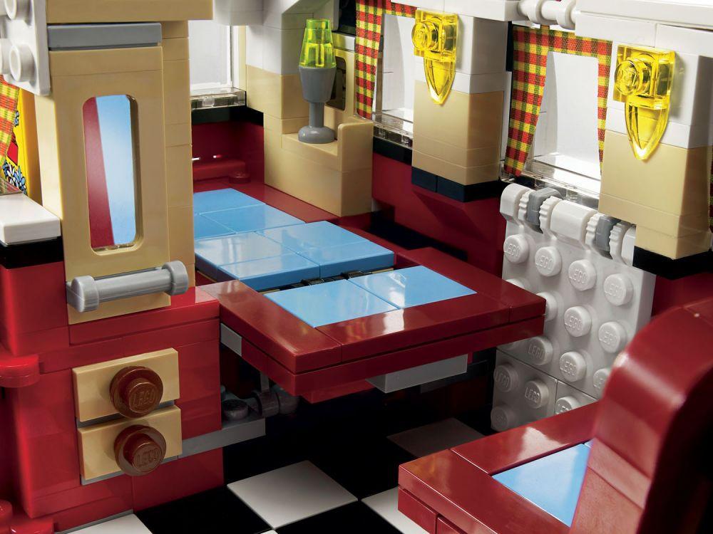 lego creator 10220 pas cher le camping car volkswagen t1. Black Bedroom Furniture Sets. Home Design Ideas