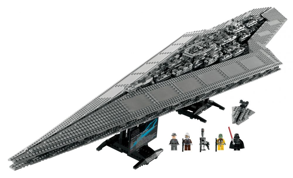 lego star wars 10221 pas cher super star destroyer. Black Bedroom Furniture Sets. Home Design Ideas