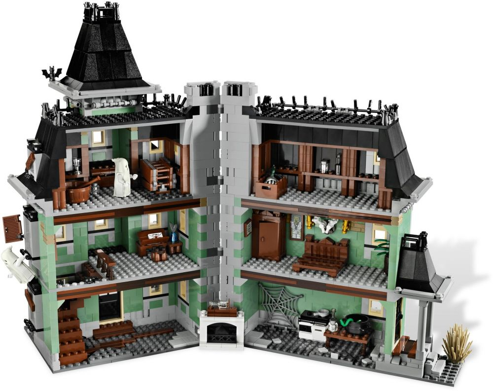 maison hantee lego