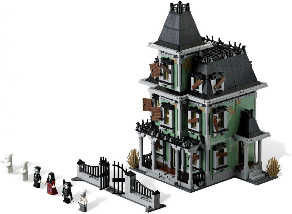 lego monster fighters 10228 pas cher la maison hant e. Black Bedroom Furniture Sets. Home Design Ideas