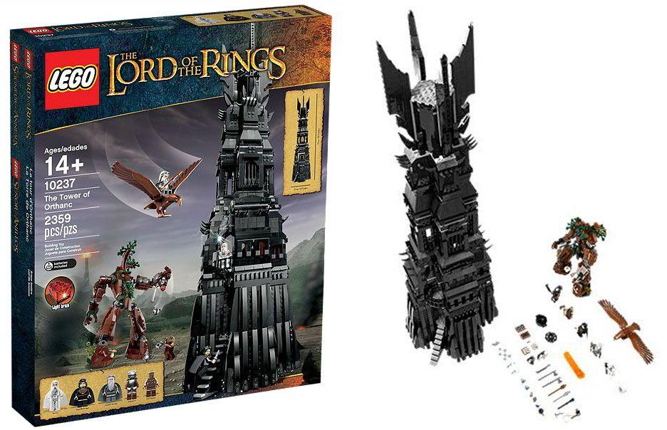 Tour 10237 Seigneur Anneaux D'orthanc Pas Le CherLa Des Lego XkulTPZwOi