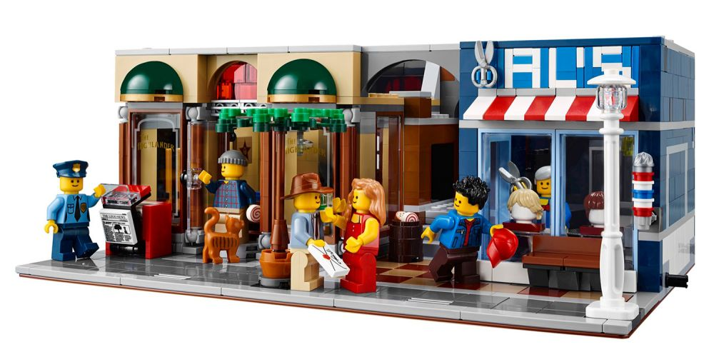 Lego creator pas cher le bureau du détective