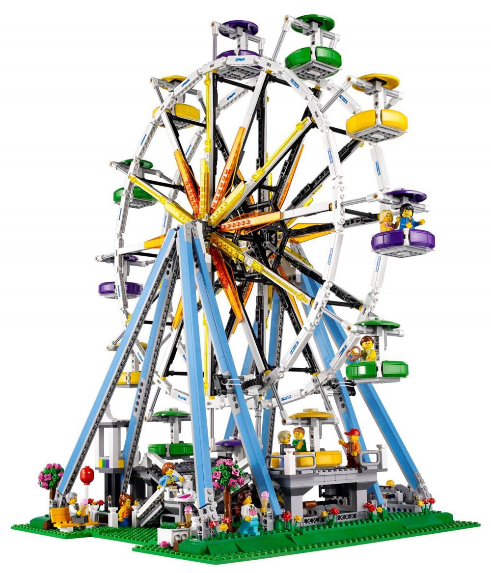 Lego creator 10247 pas cher la grande roue - Brouette 2 roues pas cher ...