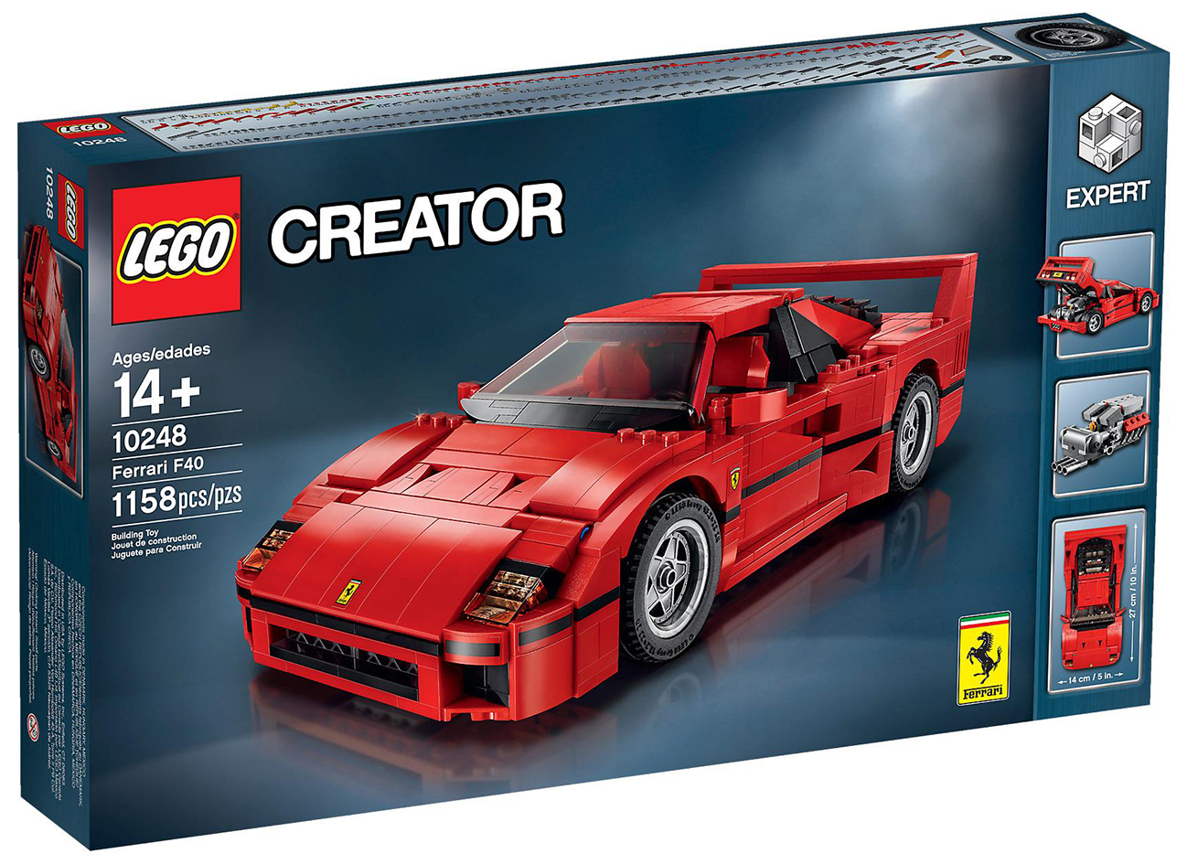 lego creator 10248 pas cher la ferrari f40. Black Bedroom Furniture Sets. Home Design Ideas