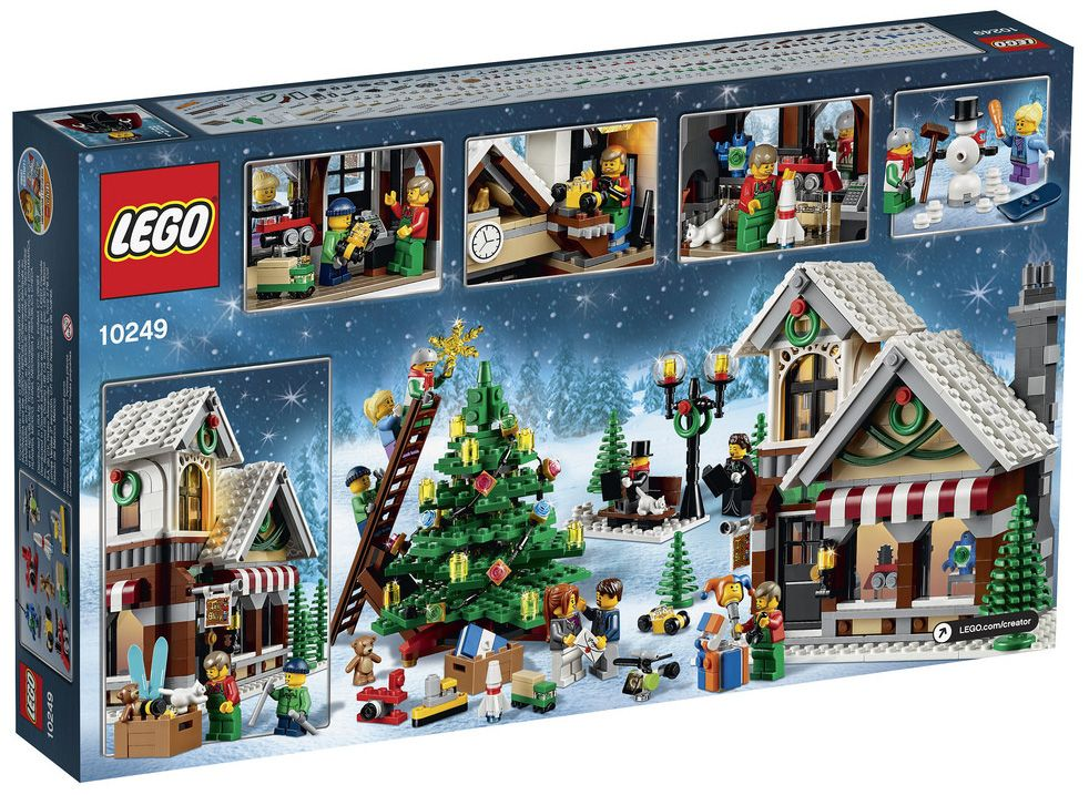 Lego creator 10249 pas cher le magasin de jouets d 39 hiver for Jouetstore