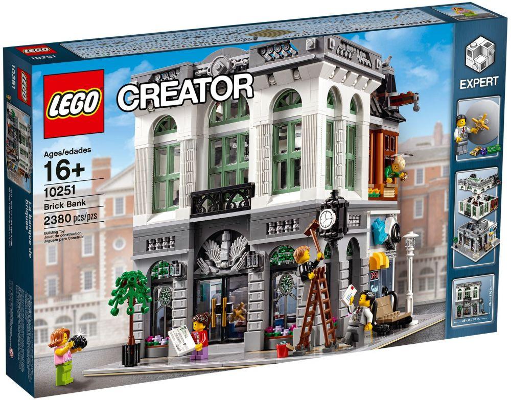 Lego creator 10251 pas cher la banque de briques for House creator