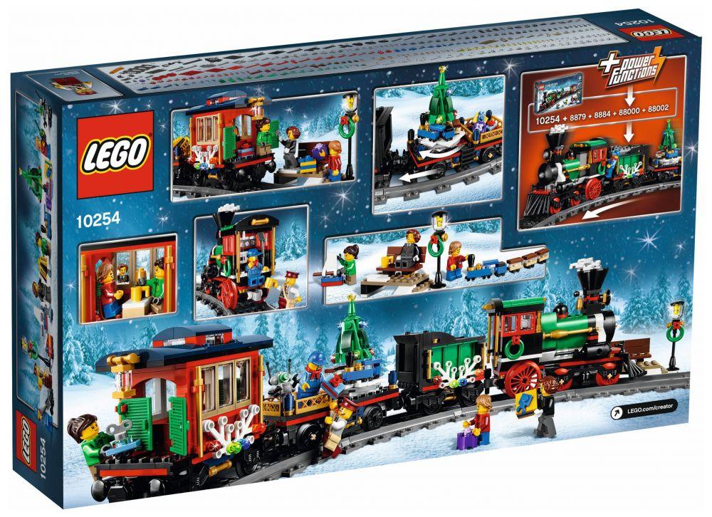 lego train de noel LEGO Creator 10254 pas cher   Le train de Noël lego train de noel