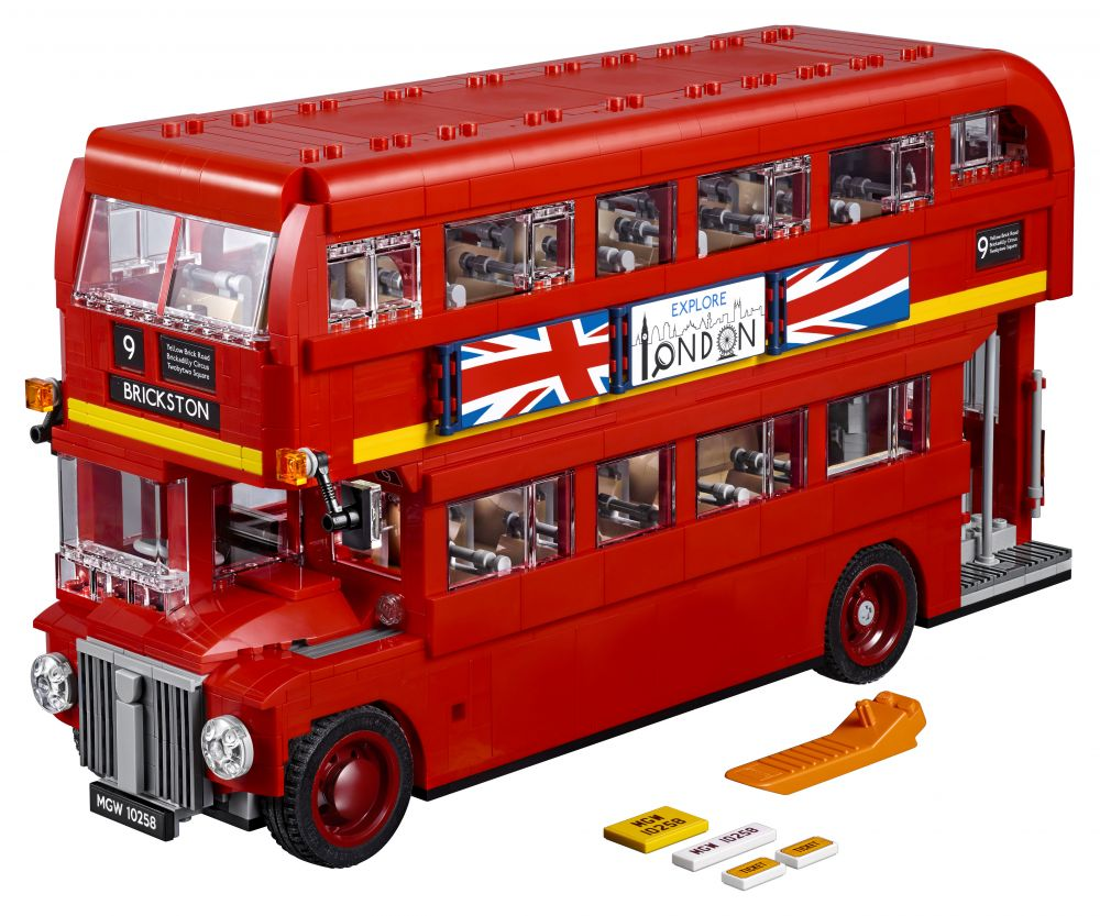 lego creator 10258 pas cher le bus londonien. Black Bedroom Furniture Sets. Home Design Ideas