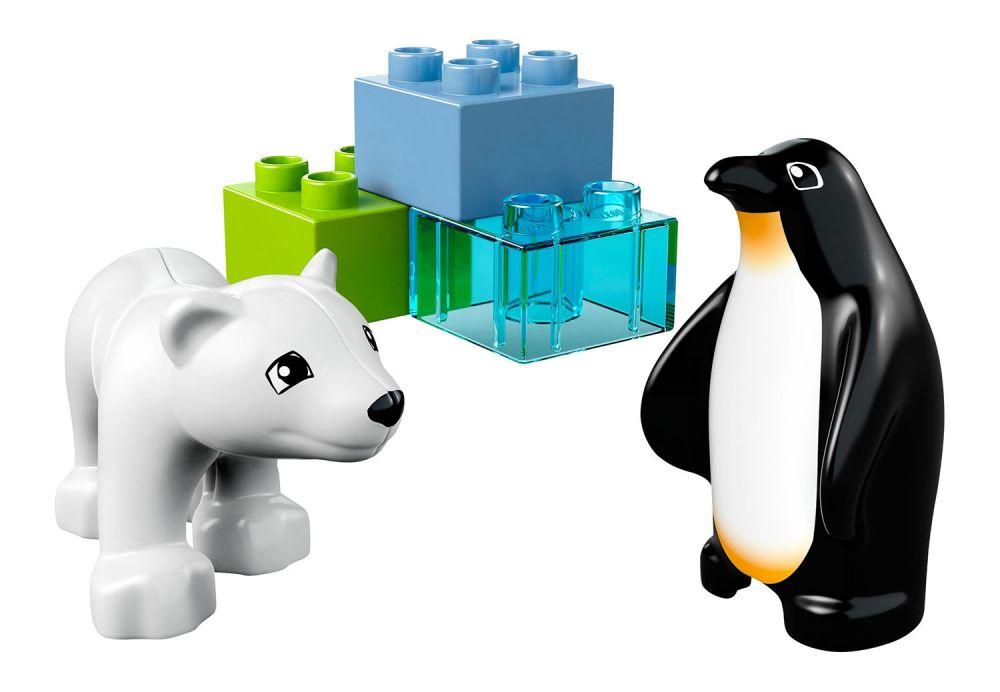 lego duplo 10501 pas cher les animaux polaires du zoo. Black Bedroom Furniture Sets. Home Design Ideas