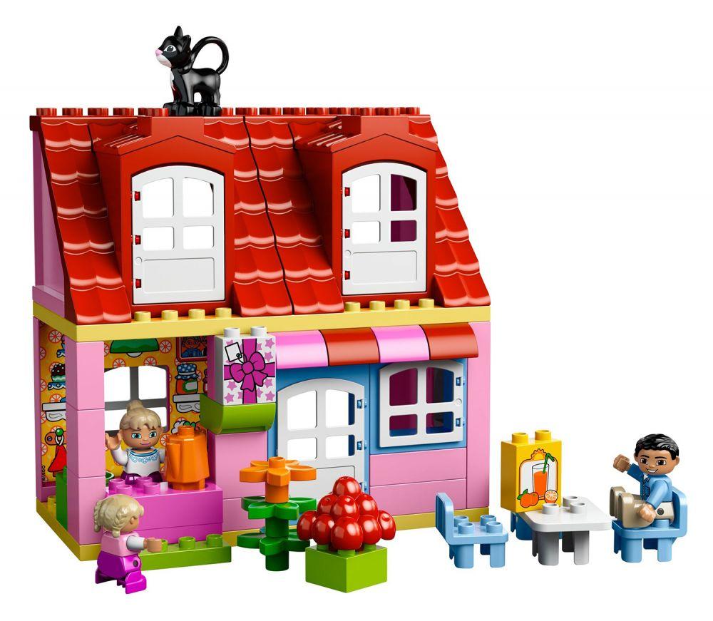 lego duplo 10505 pas cher la maison. Black Bedroom Furniture Sets. Home Design Ideas