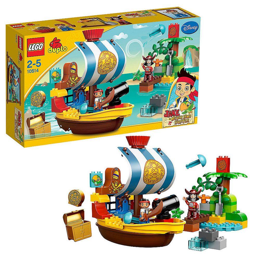 lego duplo 10514 pas cher le vaisseau pirate de jake. Black Bedroom Furniture Sets. Home Design Ideas