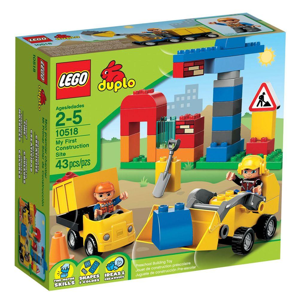 Lego Duplo 10518 Pas Cher Mon Premier Chantier