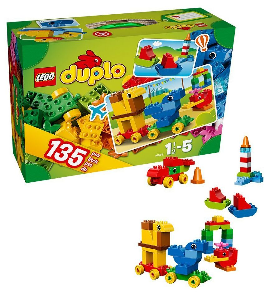 lego duplo 10565 pas cher ma valise cr ative. Black Bedroom Furniture Sets. Home Design Ideas