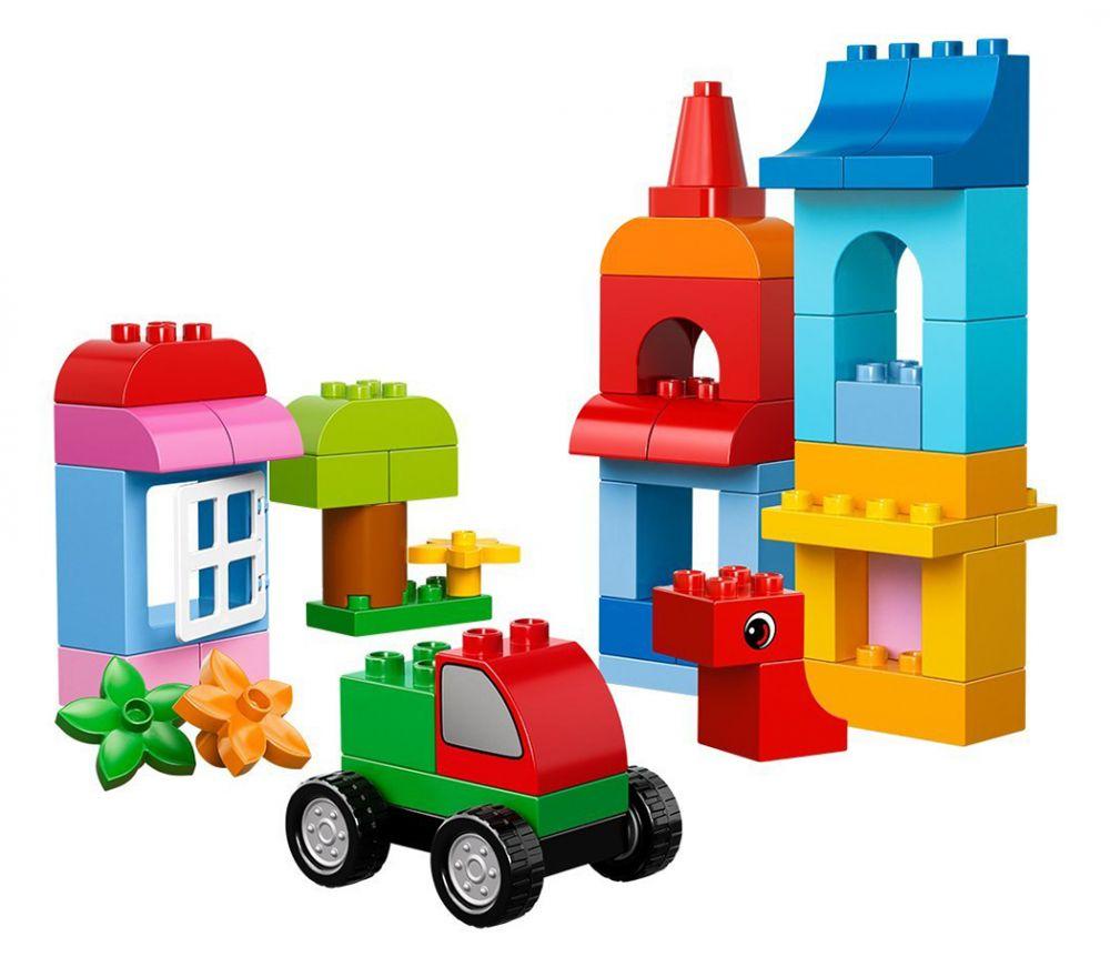 LEGO Duplo 10575 pas cher - Le cube de construction créative LEGO DUPLO