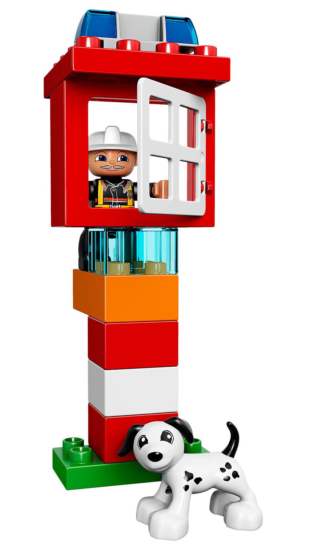 lego duplo 10591 pas cher le bateau des pompiers. Black Bedroom Furniture Sets. Home Design Ideas