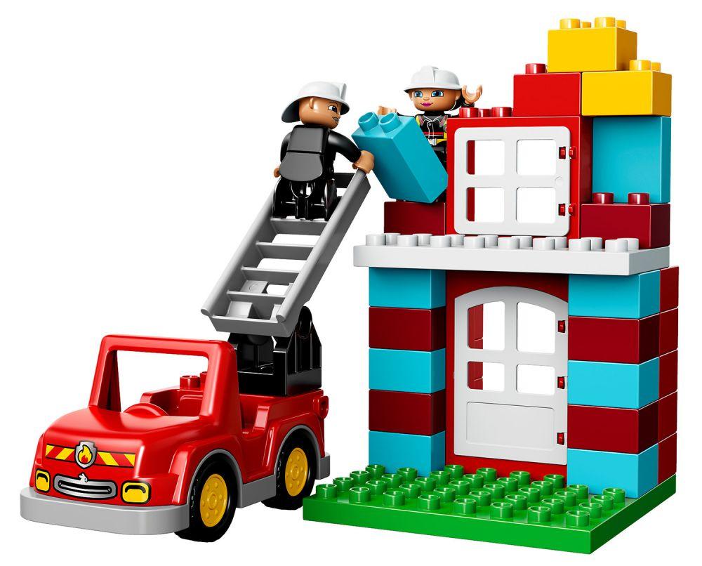 lego duplo 10593 pas cher la caserne des pompiers. Black Bedroom Furniture Sets. Home Design Ideas