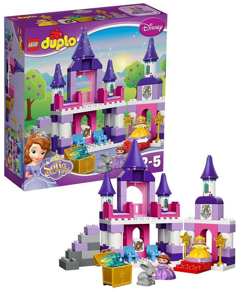 Lego duplo 10595 pas cher le ch teau royal de la - Lapin princesse sofia ...