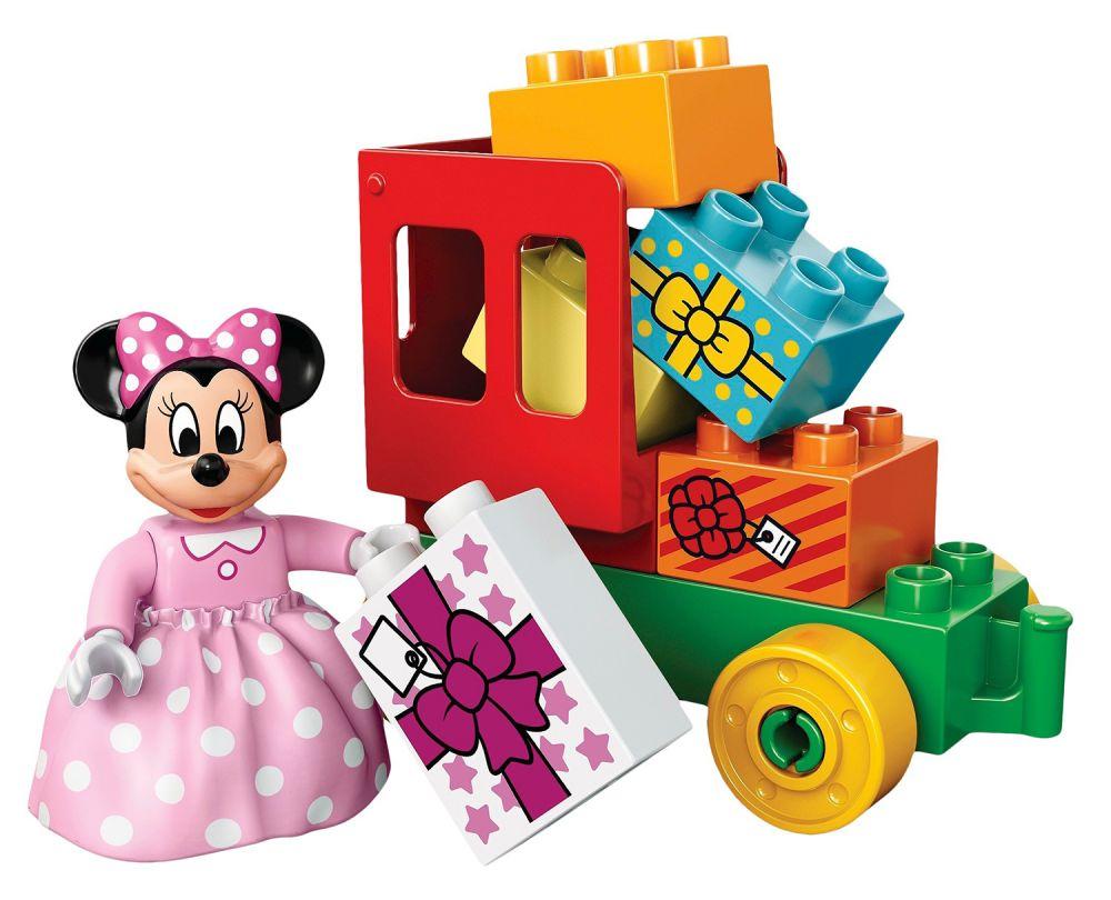 Lego Duplo 10597 Pas Cher La Parade D 39 Anniversaire De Mickey Et Minnie