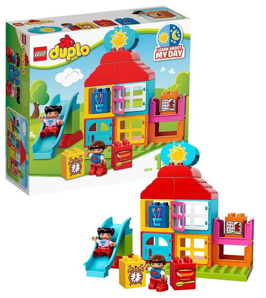 lego duplo 10616 pas cher ma premi re maison. Black Bedroom Furniture Sets. Home Design Ideas