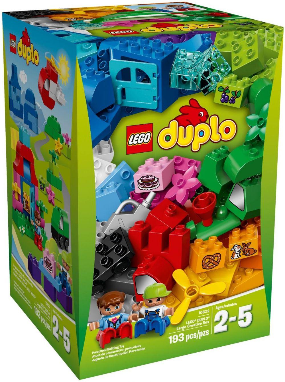Grande De 10622 Lego Construction La Boîte Créative Duplo KJFclT1u3