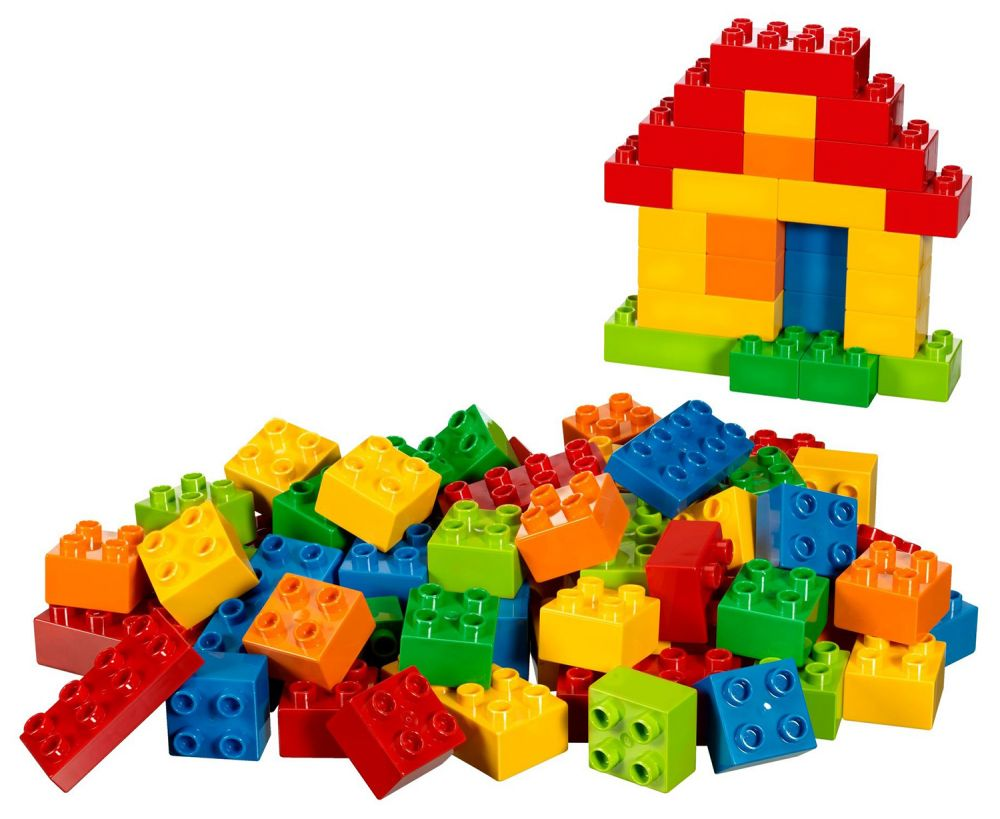 lego duplo 10623 pas cher grande bo te de compl ment lego duplo. Black Bedroom Furniture Sets. Home Design Ideas