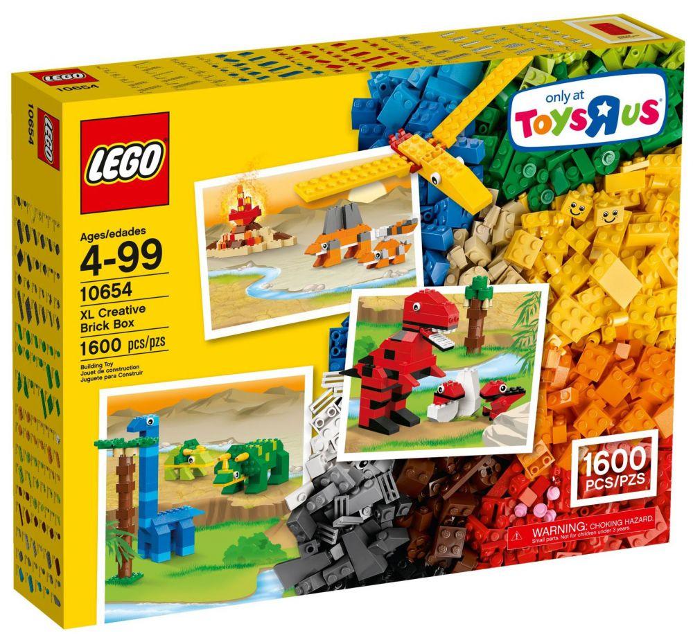 LEGO Classic 10654 pas cher La boîte XL de briques créatives