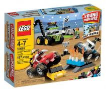 LEGO Juniors 10655 - Ensemble de Monster Trucks pas cher