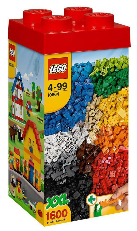 lego classic 10664 pas cher ensemble xxl de briques lego. Black Bedroom Furniture Sets. Home Design Ideas