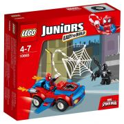 LEGO Juniors 10665 Spider-Man: Poursuite avec la Spider-Car