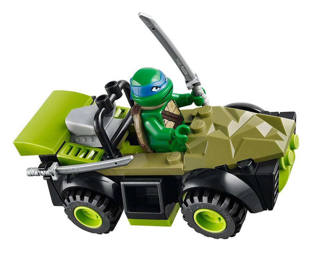 Lego juniors 10669 pas cher le repaire des tortues ninja - Mechant tortue ninja ...