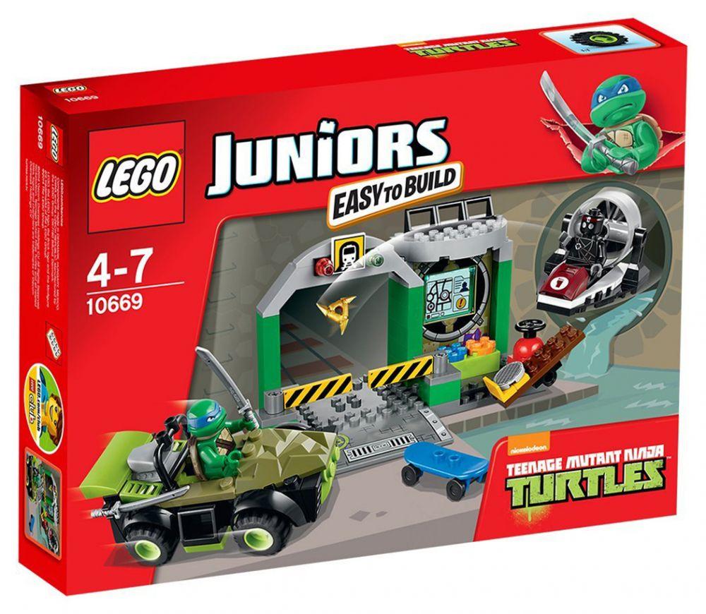 lego juniors 10669 le repaire des tortues ninja - Tortues Ninja Tortues Ninja