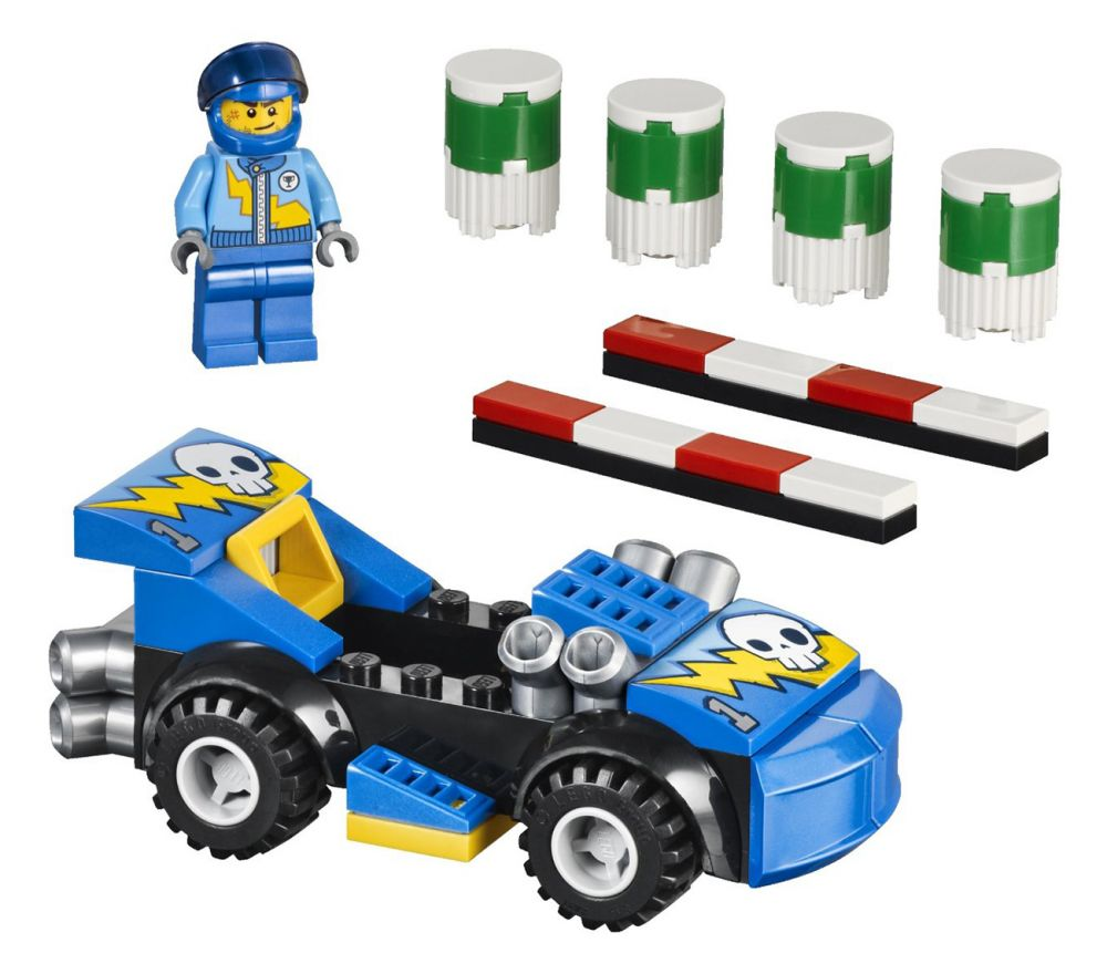 Jouet Lego Juniors 10673  Grande Boîte du Rallye Automobile pas cher : Prix