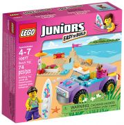 LEGO Juniors 10677 - L'excursion à la plage pas cher