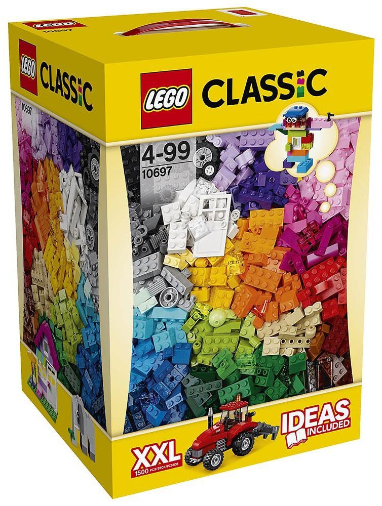lego classic 10697 pas cher la grande bo te de construction cr ative lego. Black Bedroom Furniture Sets. Home Design Ideas