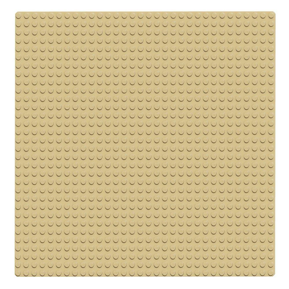 lego classic 10699 pas cher la plaque de base sable 32x32. Black Bedroom Furniture Sets. Home Design Ideas