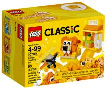 LEGO Classic 10709 Boîte de construction orange