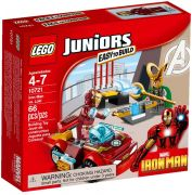 LEGO Juniors 10721 Iron Man contre Loki