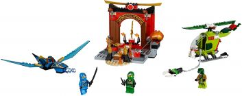 LEGO Juniors 10725 Le temple perdu