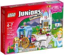 LEGO Juniors 10729 Le carrosse de Cendrillon