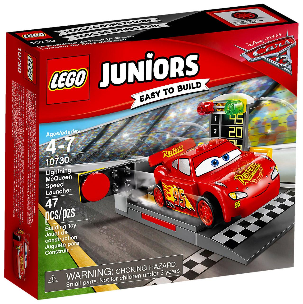 Flash Juniors Propulseur Lego 10730 De CherLe Pas Mcqueen jMqUpzVLSG