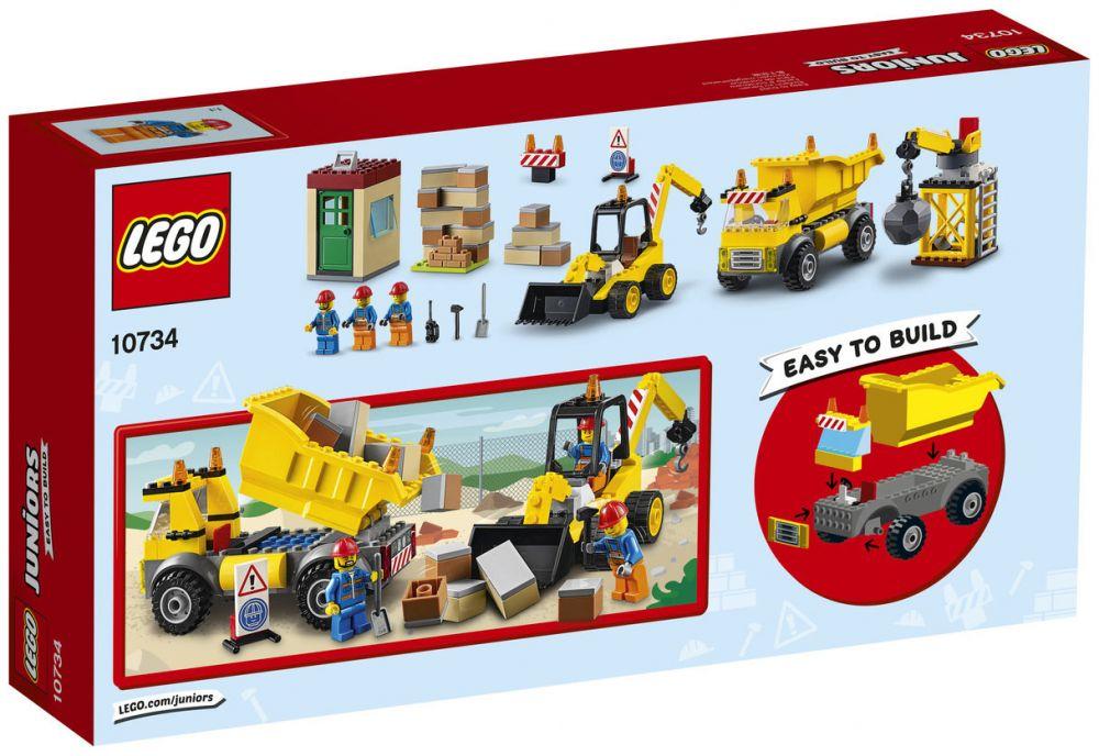 Démolition Lego Le De Chantier 10734 Juniors 5TclKu3F1J